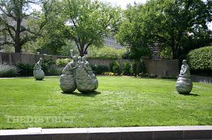 Hirshorn Museum and sculpture garden in Washington, DC