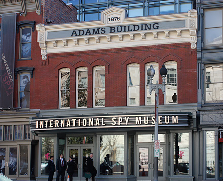 International Spy Museum in Washington DC