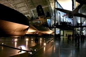 Smithsonian Air and Space Museum Annex - SR-71 blackbird