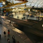 Smithsonian Air and Space Museum Annex - SR-71 blackbird