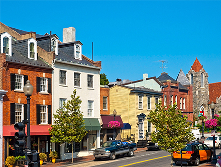 Georgetown in Washington DC: The District
