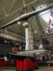 Navy Museum Mast