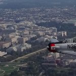 Historic Flight over Washington, D.C. Honors Nation's Veterans, October 7, 2016